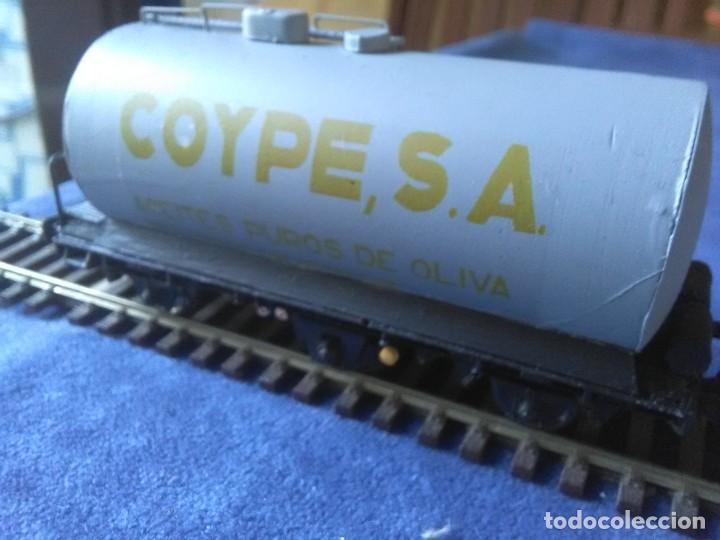 Trenes Escala: VAGÓN CISTERNA COYPE DE TRES EJES - Foto 3 - 288010923