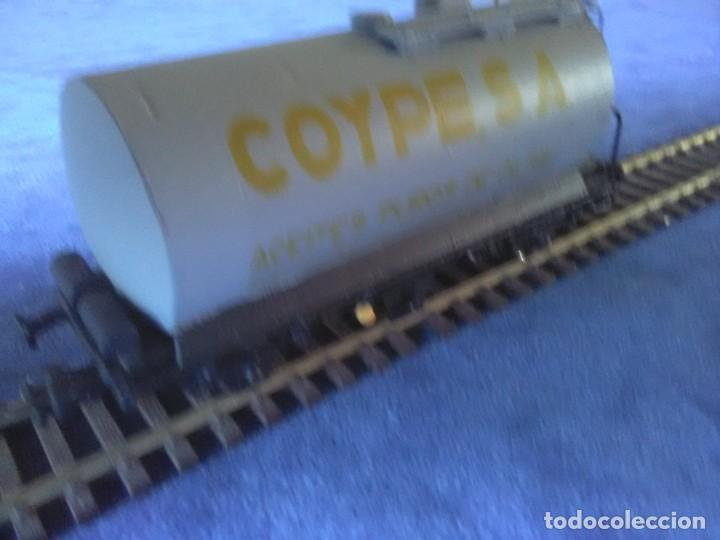 Trenes Escala: VAGÓN CISTERNA COYPE DE TRES EJES - Foto 4 - 288010923
