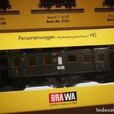Trenes Escala: VAGÓN BRAWA 2151. Lote 288149483