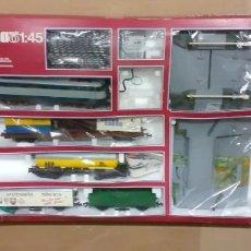 Trenes Escala: CAJA TREN ELECTRICO MARCA LIMA ESCALA 1/45 NUEVA (CAJA REACONDICIONADA LEER). Lote 288158163