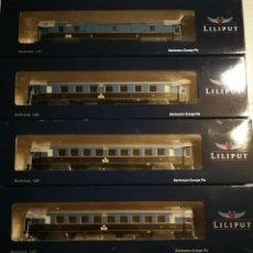 Trenes Escala: LILIPUT KARWENDELEXPRESS L334551 33 32 45 34. Lote 288196533
