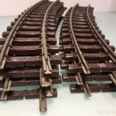 Trenes Escala: LOTE 7 VIAS ESCALA G CURVOS. Lote 288309793