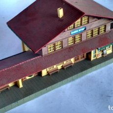 Trenes Escala: KIBRI H0, CONSTRUCCION EDIFICIO ESTACIÓN. Lote 288396123