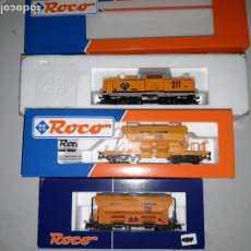 Trenes Escala: TREN GINOVART RENFE ROCO H0. Lote 288559903