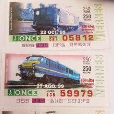 Trenes Escala: ONCE. TRES LOCOMOTORAS ELÉCTRICAS RENFE. Lote 288674743