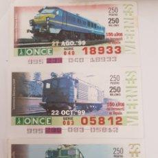 Trenes Escala: ONCE. TRES LOCOMOTORAS ELÉCTRICAS RENFE. Lote 288675973