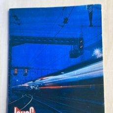 Trenes Escala: JOUEF CATÁLOGO 1972-1973. Lote 289336138