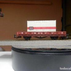 Trenes Escala: VAGÓN TELERO ESCALA HO DE PIKO. Lote 290079188