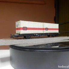 Trenes Escala: VAGÓN PORTACONTENEDOR ESCALA HO DE PIKO. Lote 290080028