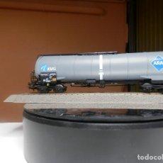 Trenes Escala: VAGÓN CISTERNA BOGIES ARAL ESCALA HO DE PIKO. Lote 290080258