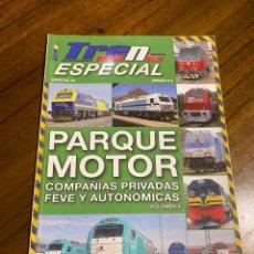 Trenes Escala: TRENMANIA ESPECIAL 29 PARQUE MOTOR COMPAÑÍAS PRIVADAS, FEVE Y AUTONÓMICAS. Lote 291924303