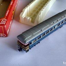 Trenes Escala: RIVAROSSI H0REF 2770, COCHE BALTIMORE AND OHIO. VÁLIDO IBERTREN, MARKLIN, ETC. EN CAJA. Lote 292238143