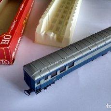 Trenes Escala: RIVAROSSI H0REF 2767, COCHE FURGÓN BALTIMORE AND OHIO. VÁLIDO IBERTREN, MARKLIN, ETC. EN CAJA. Lote 292238338