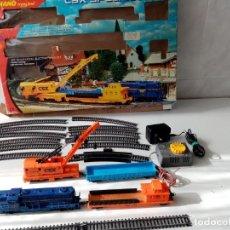 Treni in Scala: TREN MEHANO CSX SPECIAL TRAIN ESC. HO SLOVENIA FUNCIONANDO TODO LO DE LAS FOTOS. Lote 293317638