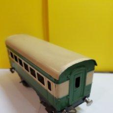 Trenes Escala: ANTIGUO VAGÓN DE HOJALATA. Lote 293886858