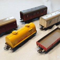 Trenes Escala: LOTE DESGUACE VAGONES JYESA MIRA BIEN LAS FOTOS. Lote 294130208