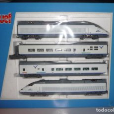 Trenes Escala: AVE S-100 ESTADO DE ORIGEN DIGITALIZADO DE JOUEF (MUY DIFÍCIL DE CONSEGUIR). Lote 294503958
