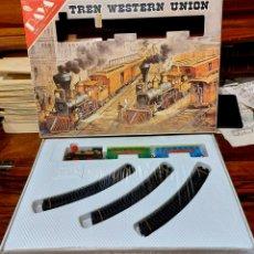 Trenes Escala: TREN WESTERN UNIÓN DE PAYA. NUEVO A ESTRENAR.. Lote 294815648