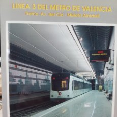 Trenes Escala: METRO DE VALENCIA. AÑO 1999. TRAMO AVDA CID A MISLATA.. Lote 295512213