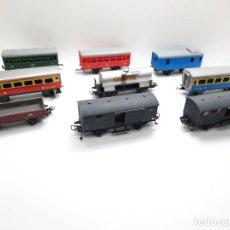 Trenes Escala: LOTE 9 VAGONES JYESA HO VAGON TIPO IBERTREN JOUEF MARKLIN. Lote 295535413