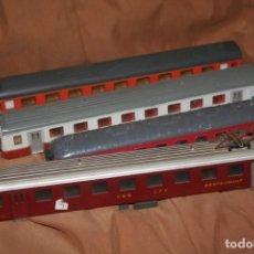 Trenes Escala: LOTE 4 VAGONES LIMA. Lote 295943623