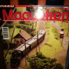 Trenes Escala: REVISTA MAQUETREN. Lote 296928993