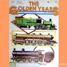 Trenes Escala: LIBRO EN INGLÉS: THE GOLDEN YEARS OF TRAINS Nº2 . HISTORIA FERROCARRIL (OCASIÓN). Lote 296934088