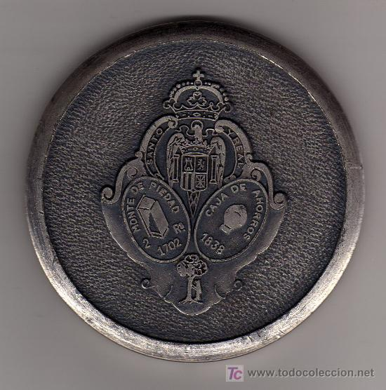 CAJA DE AHORROS Y MONTE DE PIEDAD DE MADRID. (Numismática - Medallería - Trofeos y Conmemorativas)