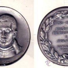 Trofeos y medallas: MEDALLA EN RELIEVE DE JAUME BALMES, FILÓSOFO Y POLÍTICO. CONMEMORATIVA BARCELONA 1969. (MD12).. Lote 23631033