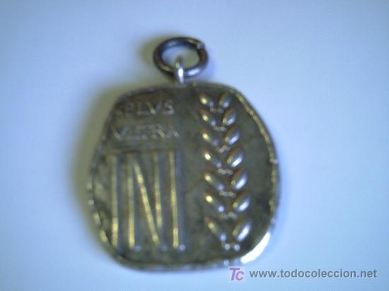 MEDALLA DEL ANTIGUO INSTITUTO NACIONAL DE INDUSTRIA - CON LA LEYENDA PLUS ULTRA INI (Numismática - Medallería - Trofeos y Conmemorativas)