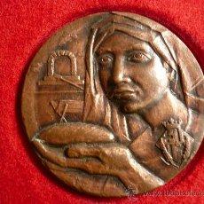 Trofeos y medallas: MEDALLA GREMI FLEQUERS BARCELONA, SANT HONORAT 1984. Lote 13791129