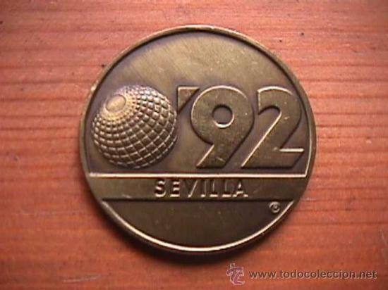 MEDALLA EXPO 92 SEVILLA, LA CARTUJA (Numismática - Medallería - Trofeos y Conmemorativas)