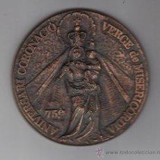 Trofeos y medallas: MEDALLA 75 ANIV. CORONACIO VERGE DE MISERICORDIA. REUS (TGNA) AÑO 1979. Lote 26004113