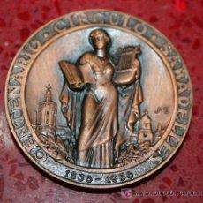 Trofeos y medallas: MEDALLA CONMEMORATIVA DEL CENTENARIO DEL CÍRCULO SABADELLÉS (1856-1956) - SABADELL 1956. Lote 25980929