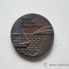 Trofeos y medallas: MEDALLA CONMEMORATIVA DE LA COMPAÑIA TELEFONICA NACIONAL DE ESPAÑA 1977. Lote 27346032