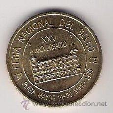 Trofeos y medallas: XXV FERIA NACIONAL DEL SELLO-FNMT-. Lote 26766661