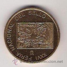 Trofeos y medallas: XXVI FERIA NACIONAL DEL SELLO-FNMT-. Lote 26766662