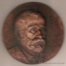 Trofeos y medallas: MEDALLA.- ANTONIO GAUDI CORNET.- REUS 1852 /BARCELONA 1926 - RIUDOMS - 50 ANIV. MUERTE - AÑO 1976. Lote 26623386