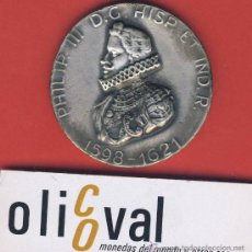 Trofeos y medallas: MEDALLA-PLATEADA-EXPOSICION PRIMERAS MONEDAS DE ORO AMERICANAS-50 MM.-66GR.ESTUCHE ORIGINAL. Lote 19402544