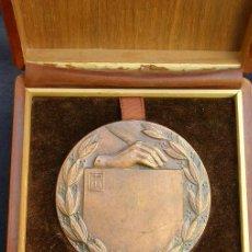 Trofeos y medallas: MEDALLA ESPAÑOLA DEL PREMIO NACIONAL DE LITERATURA. ÉPOCA FRANCO. NO ATRIBUÍDA. .. Lote 27000709