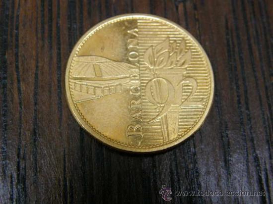 Moneda Juegos Olimpicos Barcelona 1992 Olimpiad Comprar Trofeos Y