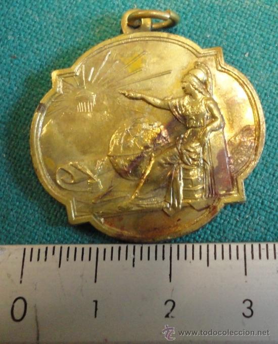 MEDALLA ESCOLAR (Numismática - Medallería - Trofeos y Conmemorativas)