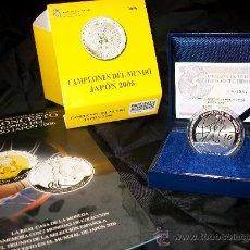 Trofeos y medallas: MONEDA CONMEMORATIVA BALONCESTO - JAPON 2006 - PLATA 10 EUROS -NUEVA - ED. LIMITADA. Lote 26731207