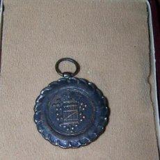 Trofeos y medallas: MEDALLA DE BRONCE IX FERIA PROVINCIAL DEL CAMPO SEPTIEMBRE 1969. 4 CM DIAMETRO. Lote 27349051