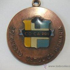 Trofeos y medallas: GRAN MEDALLA AL MERITO DEPORTIVO FOOTBALL - COMUNIDAD CATÓLICA PRIMARIA - 1988. Lote 26484598