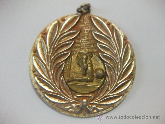 ENORME MEDALLA AL MERITO DEPORTIVO EN FOOTBALL URUGUAY 1996 - (Numismática - Medallería - Trofeos y Conmemorativas)