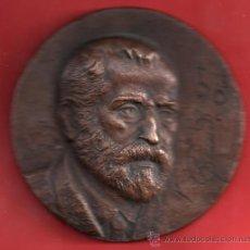 Trofeos y medallas: MEDALLA DE BONCE DE ANTONIO GAUDI CORNET NACIO EN REUS 1852 Y MURIO BARCELONA 1926 MEDALLISTA ORTIS. Lote 27358876