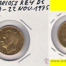 Trophies and Medals - MEDALLA DE JUAN CARLOS I REY DE ESPAÑA. 22 NOVIEMBRE 1975. C281 - 28710791