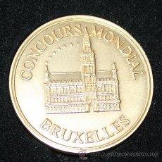 Trofeos y medallas: MEDALLA DE BRUSELAS. Lote 28968498