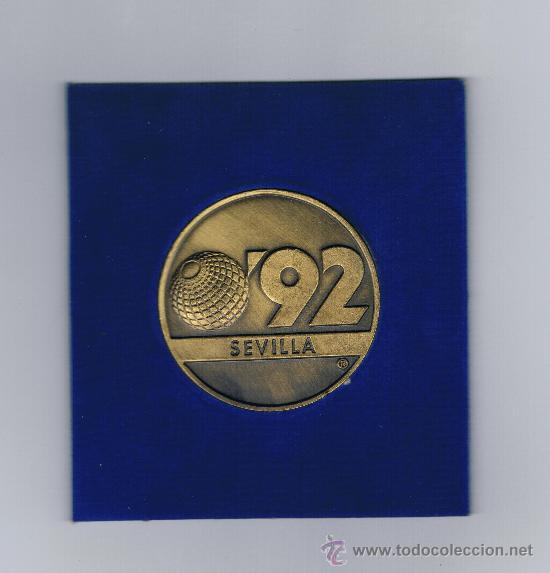 Trofeos y medallas: LA CARTUJA EXPO 92 DE SEVILLA - Foto 2 - 29504918
